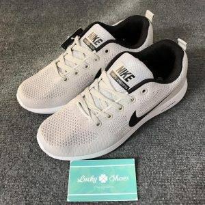 Nike zoom pegasus xám logo đen