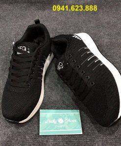 Giày Adidas Neo đen sọc kẻ