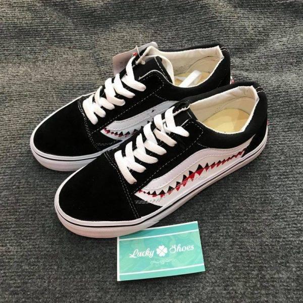 Giày Vans Old Skool cá mập