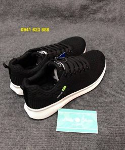 Giày Adidas Neo đen mũi tên