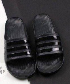 Dép Adidas đúc full đen