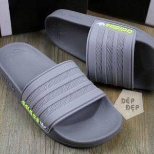 Dép Adidas Duramo full xám