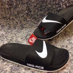 Dép - Nike - ACG đen logo trắng