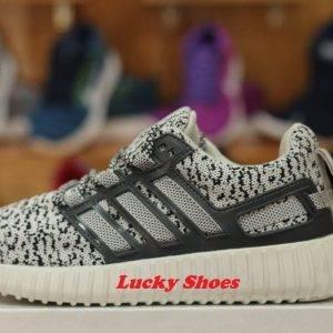 Giày Adidas vằn xám đen đế nặng