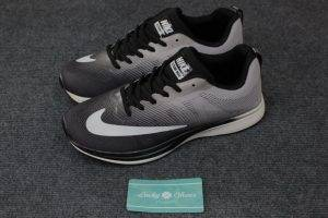 Giày Nike flyknit max xám