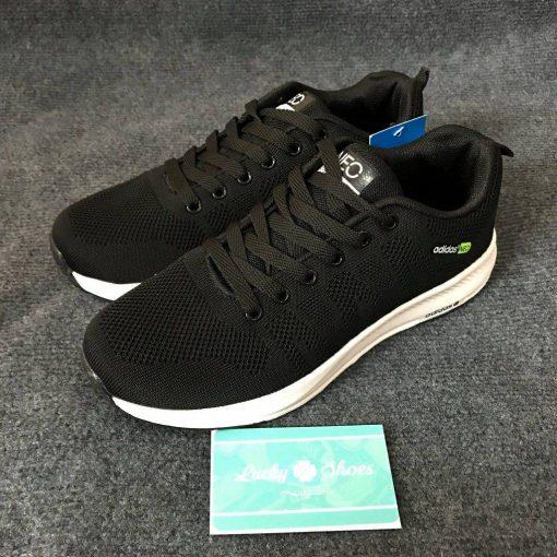 Giày Adidas Neo đen đế trắng