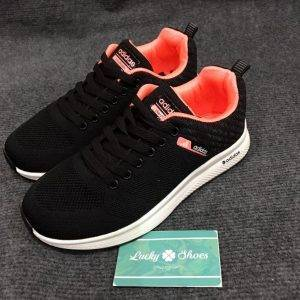 Adidas Cloud foam đen hồng