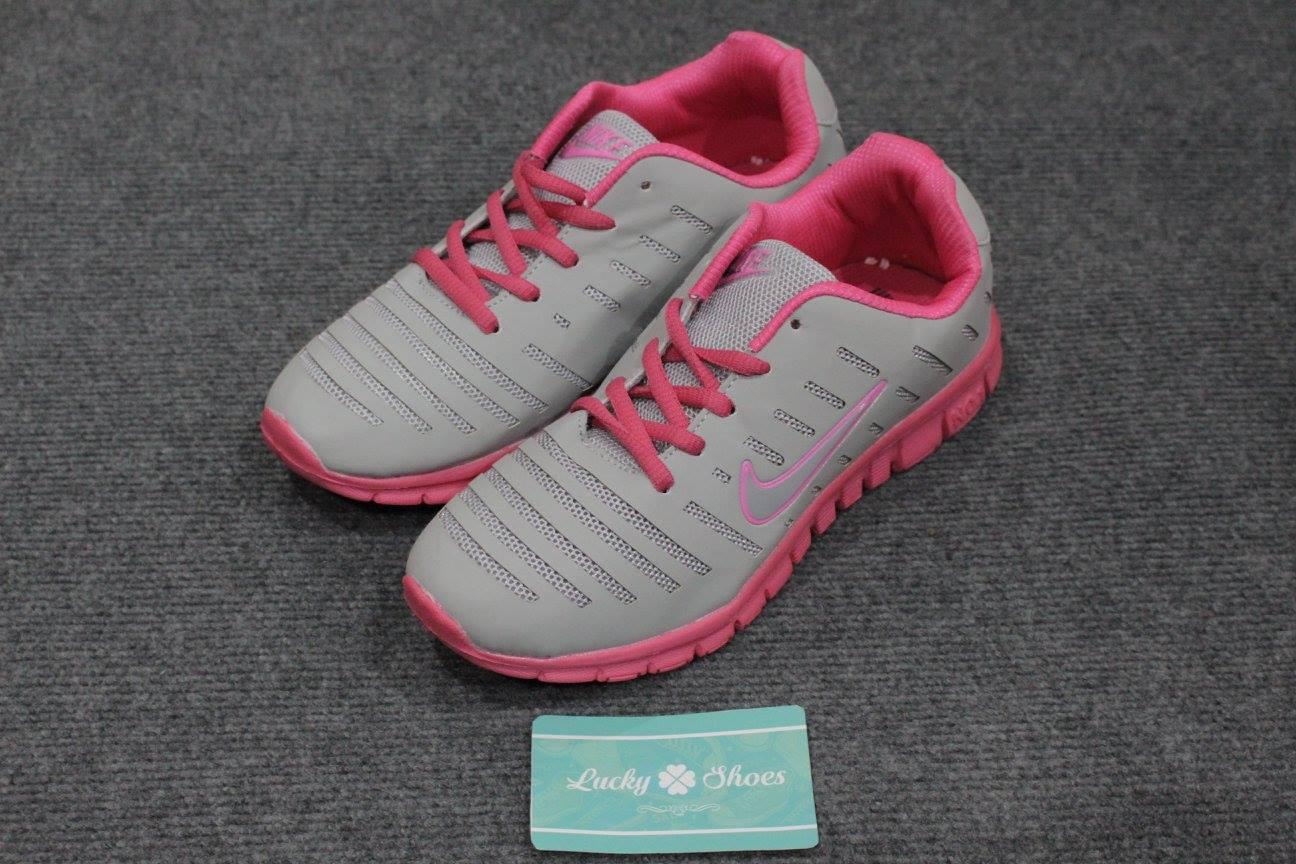 Nike xám hồng