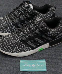 Giày Adidas NMD vằn đen xám