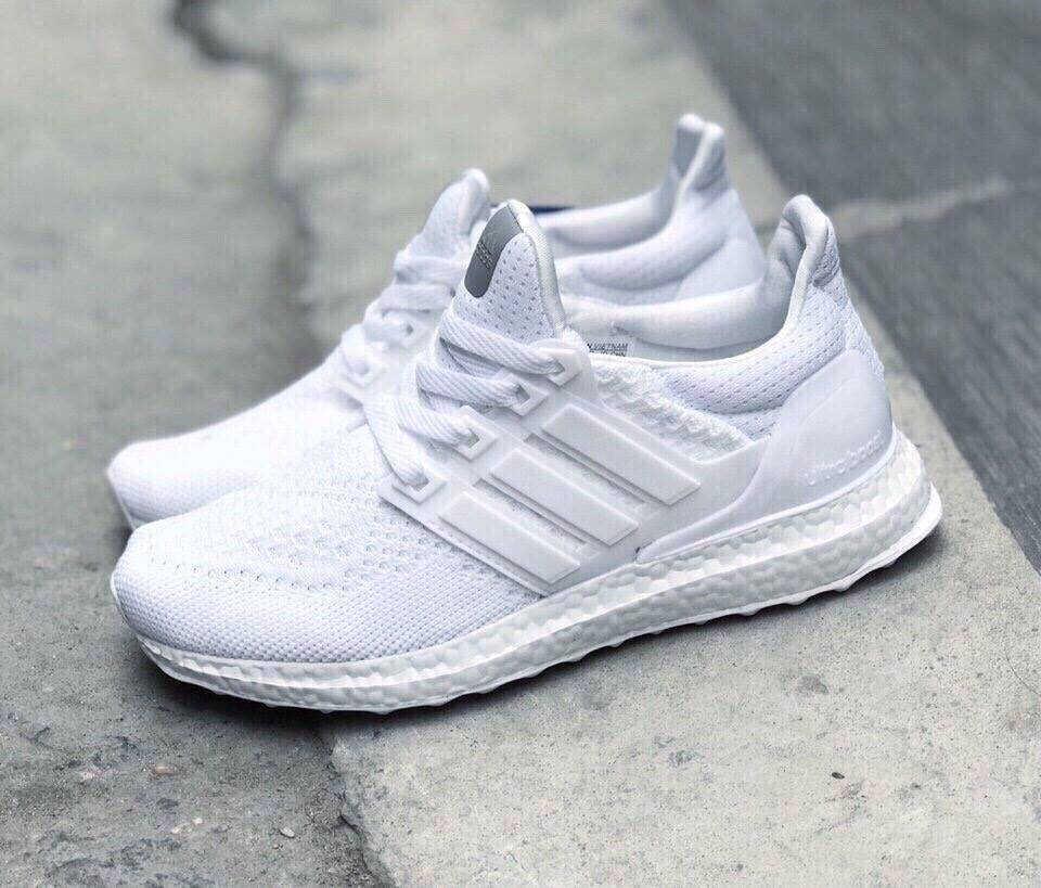 brand new 4754b 12a93 Giày Adidas Ultraboost Full White