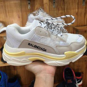 Giày Balenciaga Trắng Vàng