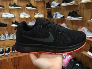 Giày Nike zoom full đen đế cam