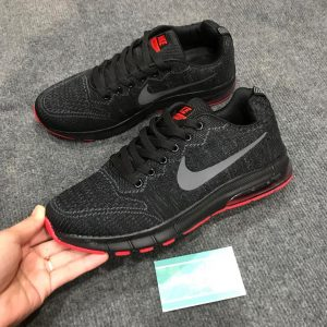 Giày Nike zoom pegasus đen đế trong đỏ