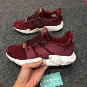 Giày Adidas Prophere đỏ mận