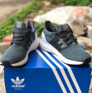 Giày Adidas xanh xám f1