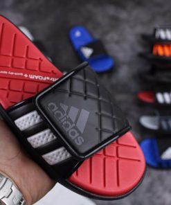Dép Adidas Đỏ đen