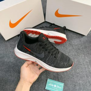 Giày Nike zoom Đen logo đỏ