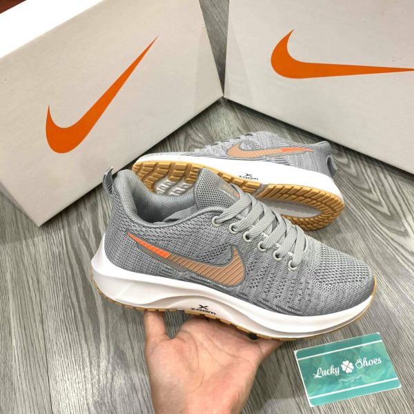 Giày Nike zoom X xám nâu