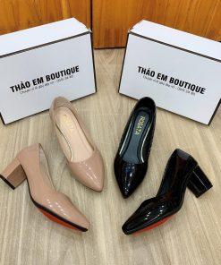 giày cao gót công sở 5cm